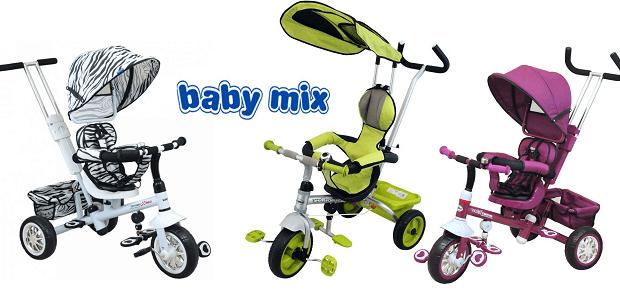 Trojkolky Baby Mix